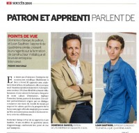 Apprentissage : interview parton et apprenti